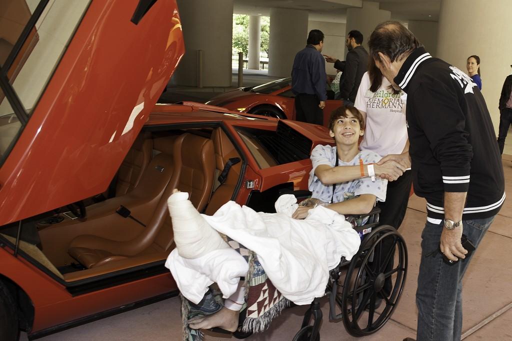 Lamborghini Festival 2013 benefiting Children's Memorial Hermann Hospital
